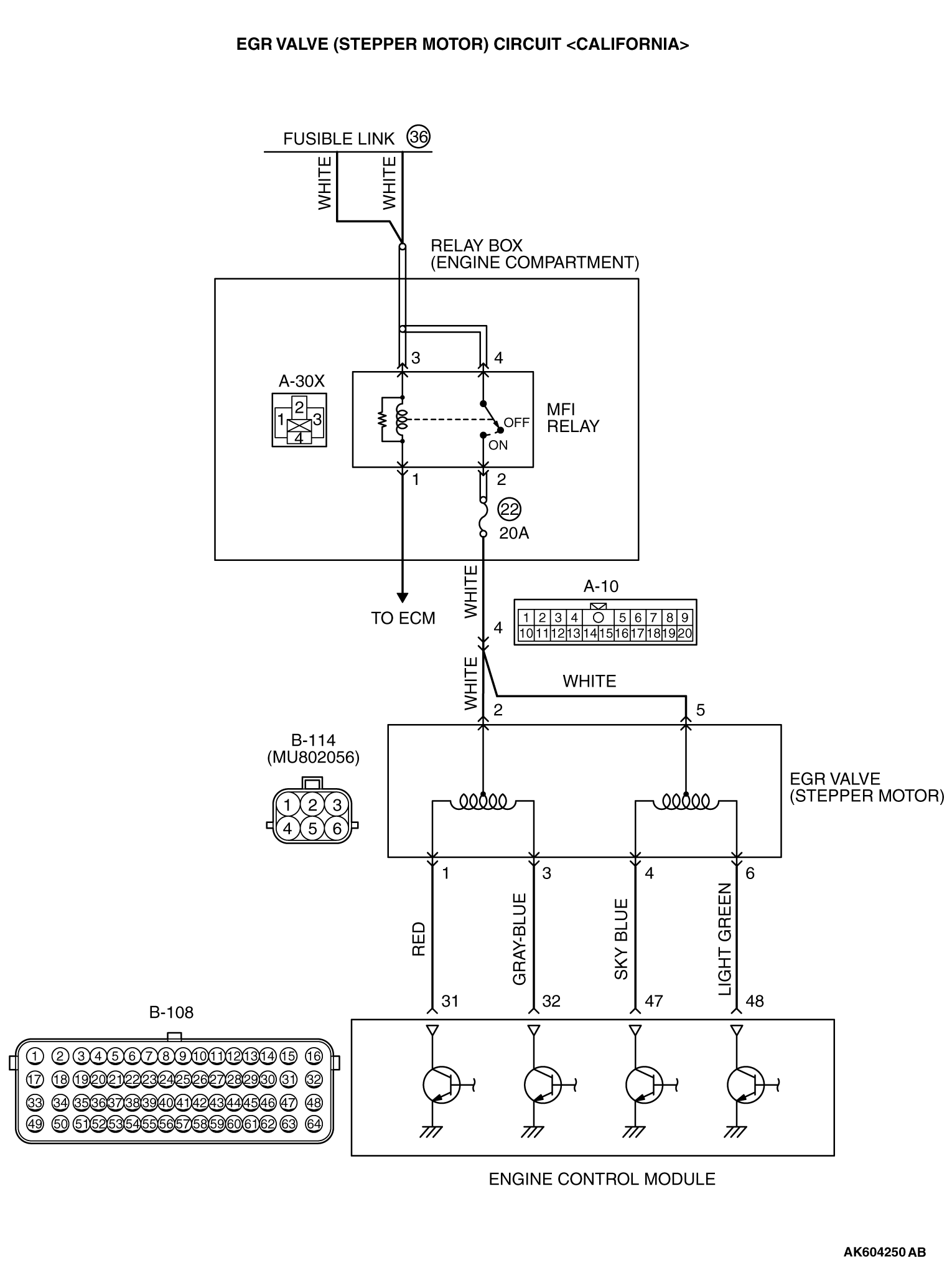 Egr Valve Diagram - Wiring Diagrams List