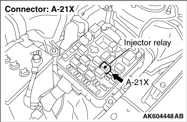 injector circuit malfunction cylinder 5