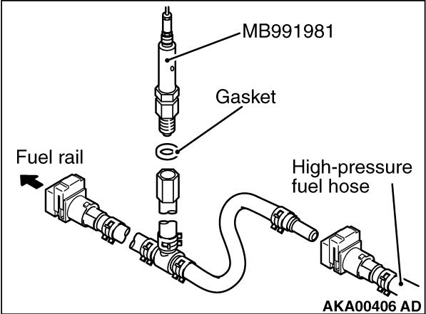 13c Fuel Pressure Test